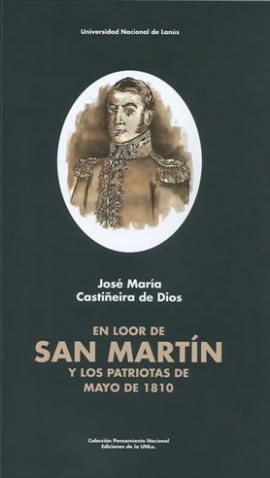Cubierta para En loor de San Martín y los patriotas de mayo de 1810