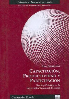 Cubierta para Capacitación, productividad y participación
