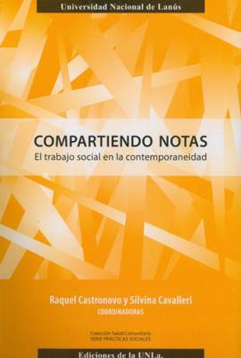 Cubierta para Compartiendo notas: El trabajo social en la contemporaneidad