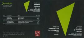 Cubierta para Festival Internacional Sonoimágenes 2005, Vol. 1