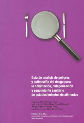 Cubierta para Guía de análisis de peligros y estimación del riesgo para la habilitación, categorización y seguimiento sanitario de establecimientos de alimentos