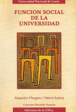 Cubierta para Función social de la Universidad